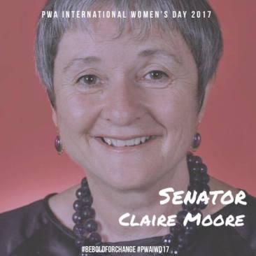 Senator Claire Moore